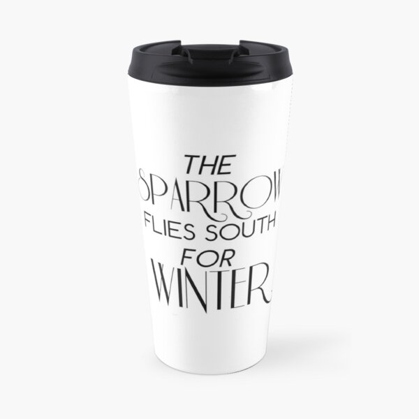 Skulduggery Pleasant: The Sparrow Flies South for Winter Travel Mug