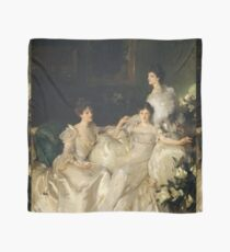 John Singer Sargent - The Wyndham Sisters Scarf