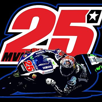 Maverick Vinales on his motogp motorbike by ideasfinder