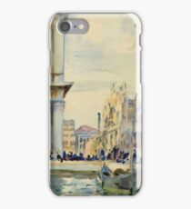 John Singer Sargent - The Piazzetta iPhone Case/Skin