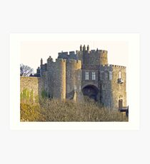 Norman Castle Dover Art Print