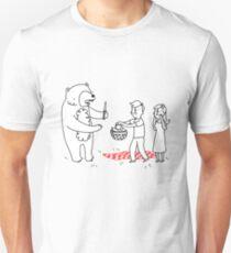 bears picnic Unisex T-Shirt