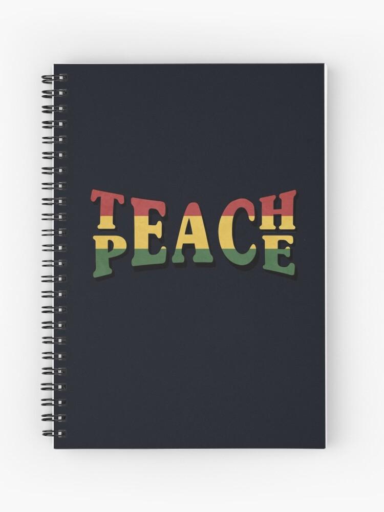 7c19e963cd3d Teach Peace Cool Quote Hippie Rasta Weed Love Music