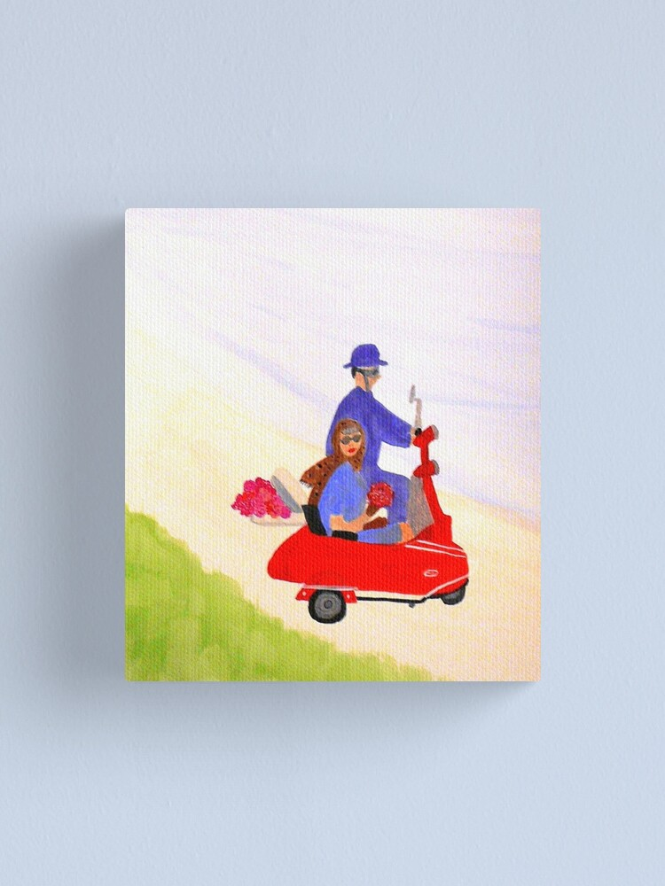 Alternate view of Joy Ride Canvas Print