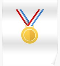 Winner, Medal, First place Poster