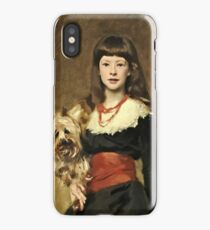 John Singer Sargent - Miss Beatrice Townsend 1882 iPhone Case/Skin