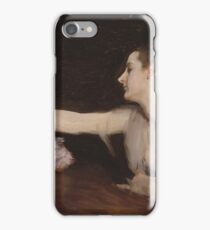John Singer Sargent - Madame Gautreau Drinking A Toast iPhone Case/Skin