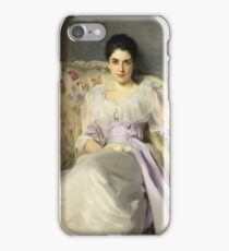 John Singer Sargent - Lady Agnew Of Lochnaw (1865 - 1932) iPhone Case/Skin