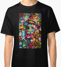Bill Murray Junk Drawer Scavenger Hunt in Sharpie Marker Classic T-Shirt