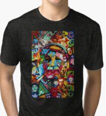 Bill Murray Junk Drawer Scavenger Hunt in Sharpie Marker Tri-blend T-Shirt