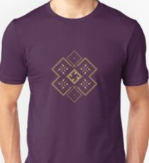 Swastika. Solar signs. Ancient ornament. Sacred geometry Unisex T-Shirt