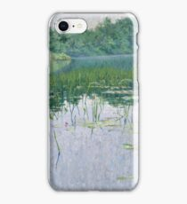 John Leslie Breck - Grey Day On The Charles iPhone Case/Skin