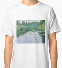 John Leslie Breck - Grey Day On The Charles Classic T-Shirt