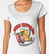 USCM BUG STOMPER! Women's Premium T-Shirt