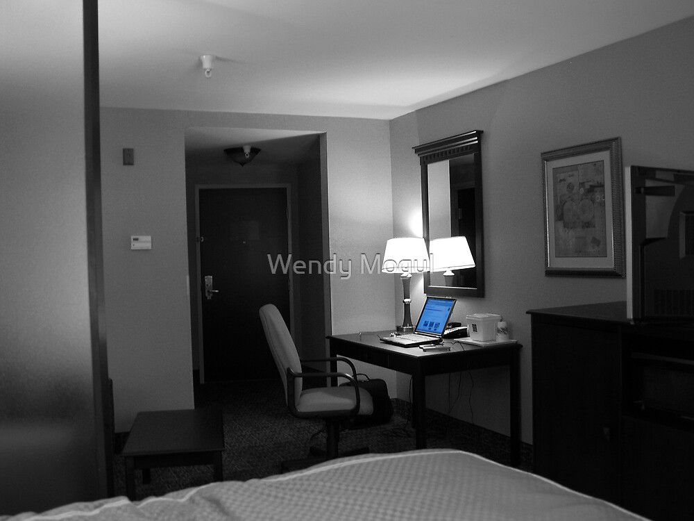 Hotel Room by Wendy Mogul