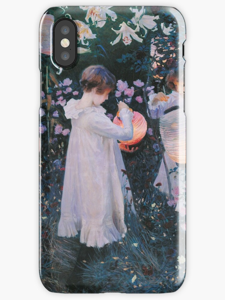 John Singer Sargent - Carnation, Lily, Lily, Rose by artcenter