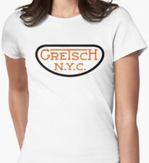 gretsch Womens Fitted T-Shirt