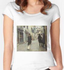 John Singer Sargent - John Singer Sargent Women's Fitted Scoop T-Shirt