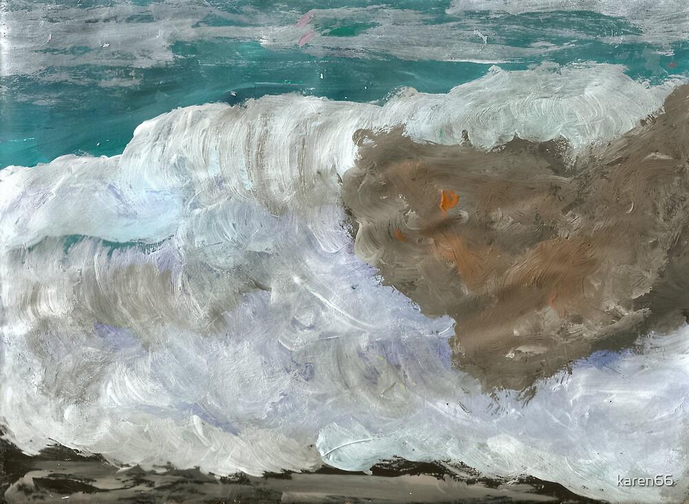 Rough Ocean by karen66