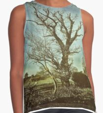 The Gothic Tree Contrast Tank