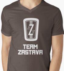 Team Zastava - Skidmark Edition Mens V-Neck T-Shirt