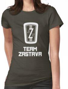 Team Zastava - Skidmark Edition Womens Fitted T-Shirt