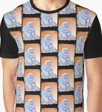Yeti card game design illustration  Graphic T-Shirt