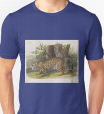 John James Audubon - Felis Onca, Linn. The Jaguar. Female (1846) Unisex T-Shirt