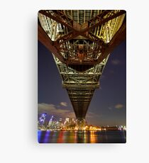 Sydney Underbridge  Canvas Print