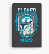 Cloned to Be Wild Canvas Print