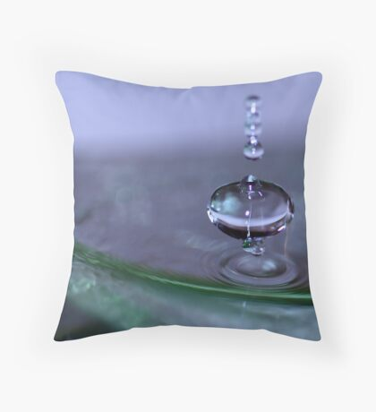 Dancing on the Edge Throw Pillow