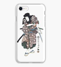 C-035 Samurai cleaning his Katana iPhone Case/Skin