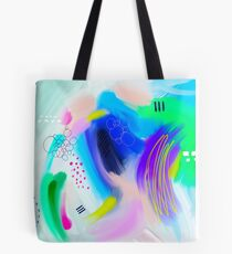 Colorfull Abstract Painting Tote Bag