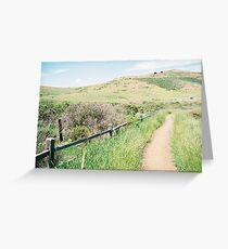 Marin Headlands, GGNRA, Marin, CA Greeting Card