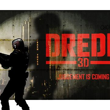 Dredd 3D - anime / alt poster by strangelysaucy