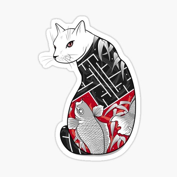 Cats Hidden Life Sticker