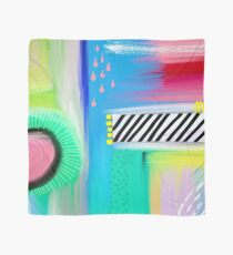 Colorful Abstract Painting Scarf