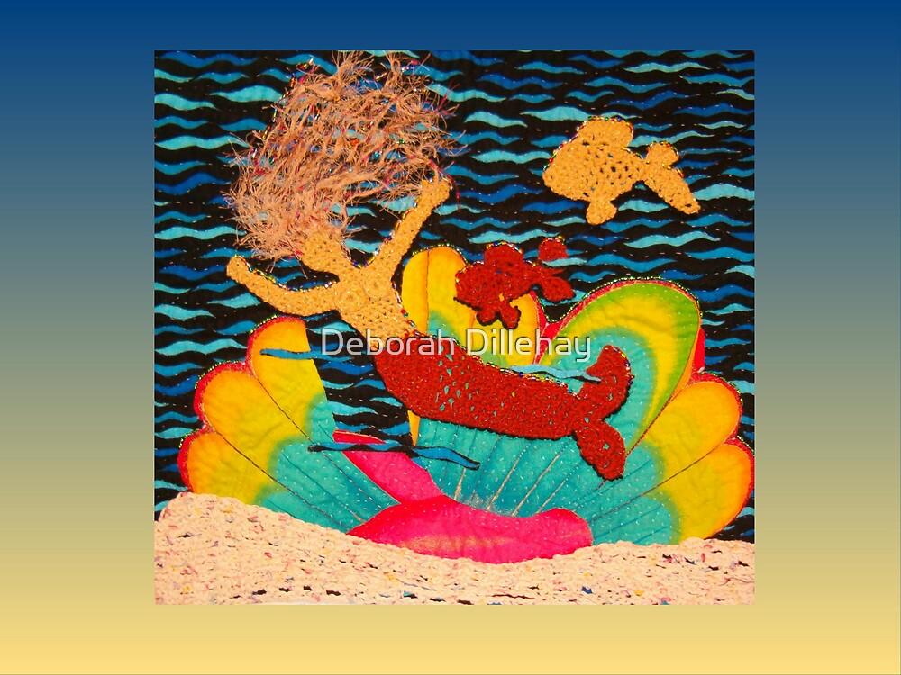 Mermaid and Pet Fish by Deborah McCormick