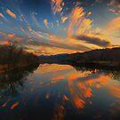 Celestial Fireworks by Robert Burns Miller