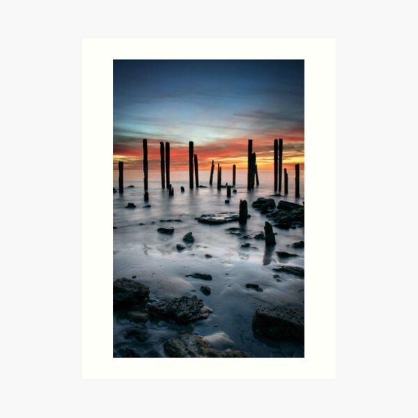 Port Willunga Art Print