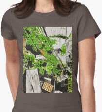 Quill and ink encounter Womens Fitted T-Shirt