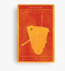 Borderlands Claptrap Gaming Poster Canvas Print