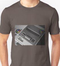 Super Nintendo black & white Unisex T-Shirt