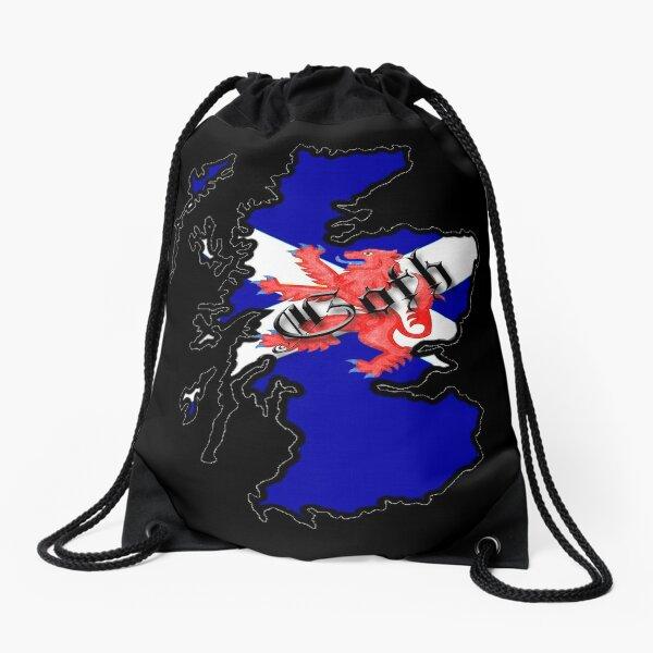 Scotland Drawstring Bag