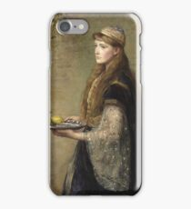 John Everett Millais - The Captive iPhone Case/Skin