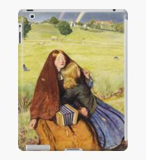 John Everett Millais - The Blind Girl1854 iPad Case/Skin