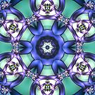 Allowing What Is Mandala by Kelly Dietrich