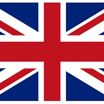Union Jack, Flag of the United Kingdom, Britain, British flag, Pure and Simple by TOMSREDBUBBLE