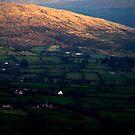 Irish landscape by Susan Grissom