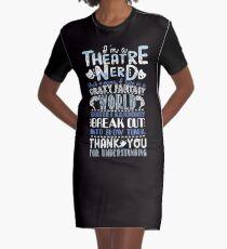 Theatre Nerd Graphic T-Shirt Dress
